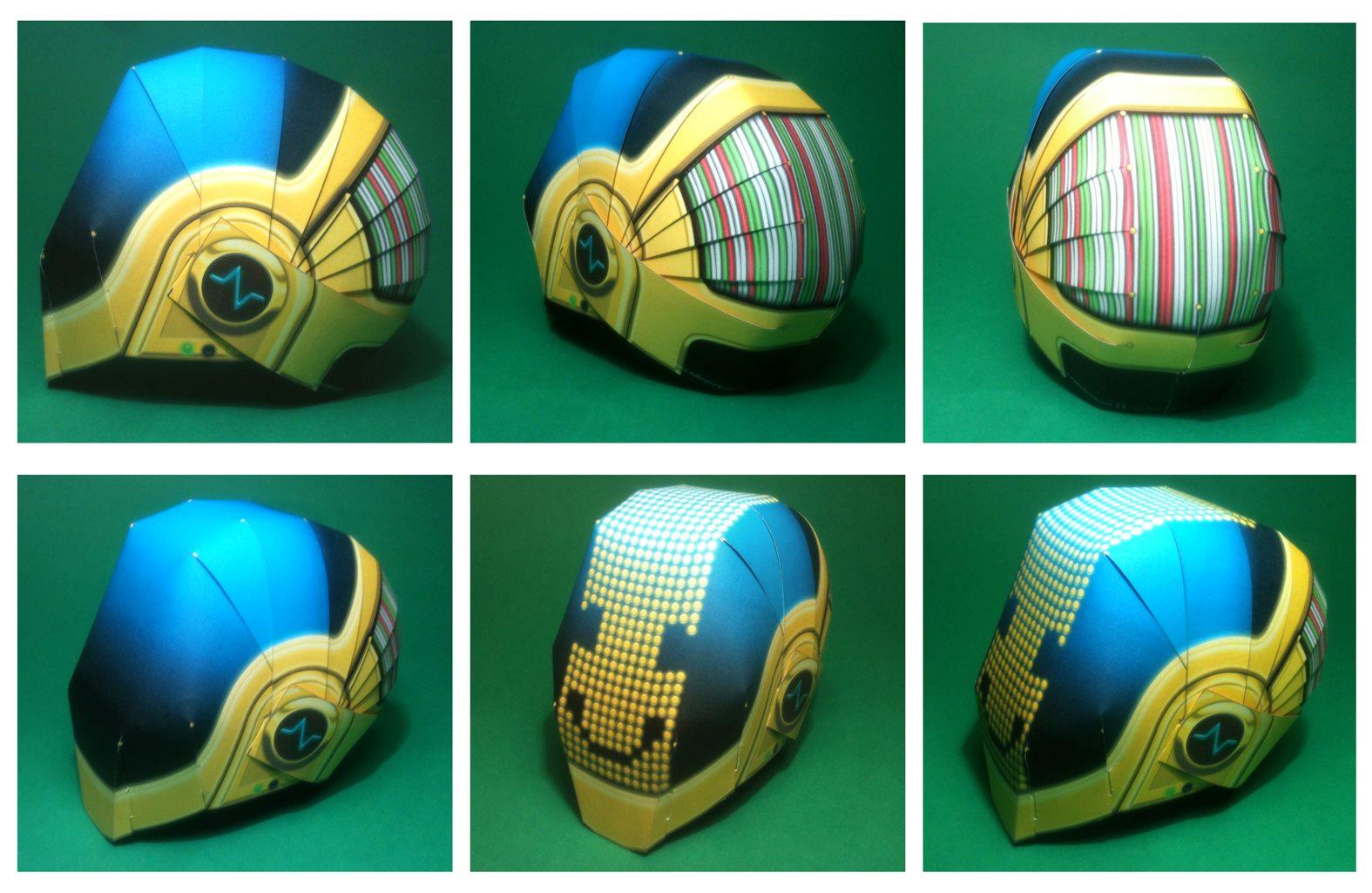 Make A Daft Punk Helmet News